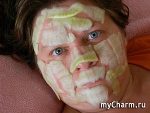 Селфи в маске. Танистая выбирает натурпродукт)))