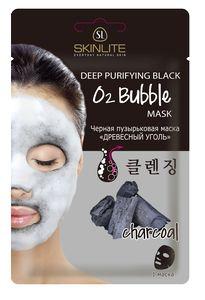 Новинка! Черные пузырьковые маски от Skinlite