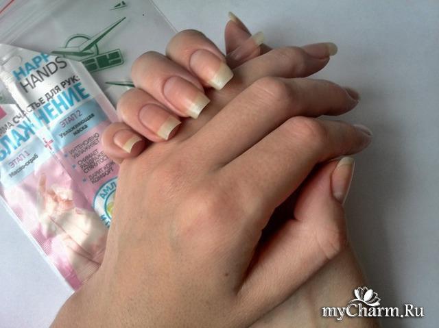 Я мечтаю о такой длине ногтей!