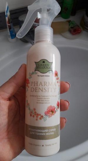 Натуральный спрей для густоты и плотности волос
