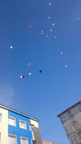 """Наши детки участвовали в международной акции """"День мира и добра""""."""