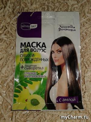 Эффективное восстановление и термозащита волос от Naturalist