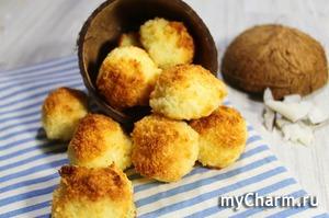 Кокосанка - очень вкусное печенье всего из трех ингредиентов! Домашнее печенье без муки за 20 минут!