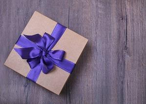 Прибыла заветная коробочка с призом!