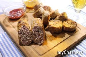 Самые простые ДОМАШНИЕ КОЛБАСКИ. Домашние сосиски из курицы и свинины без возни.