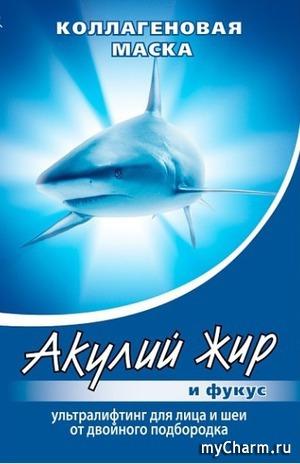 """""""Акулий жир"""" / Коллагеновая маска ультралифтинг для лица и шеи от двойного подбородка и фукус"""