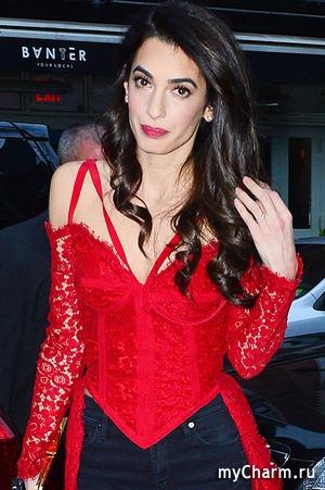 Модный промах Амаль Клуни