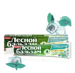 """""""Лесной бальзам"""" / Зубная паста Тройной эффект Экстрасвежесть"""