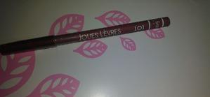 Jolies Levres – мягкий и стойкий карандаш для губ (тон 101)
