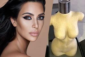 Ким Кардашьян создала «голый» флакон для парфюма