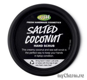 Lush / Скраб для рук и тела Солёный кокос