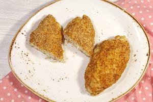 Зразы с яично-сырной начинкой. Котлетки с начинкой из сыра и яйца