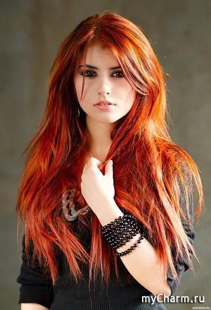 Как сохранить яркость и насыщенность окрашенных рыжих волос?