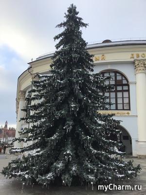 Москва новогодняя :)