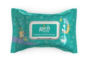 Rich Baby / Детские влажные салфетки