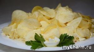НОВИНКА!!! Вкусный и простой САЛАТ с Крабовыми палочками за 5 минут! Легкий Крабовый салат с чипсами