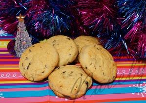 КК. Рождественские посиделки. Базиликовое печенье с имбирем