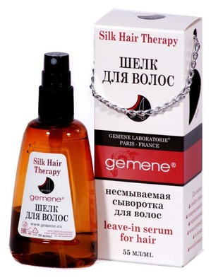 DNC / Шелк для волос Silk Hair Therapy Gemene