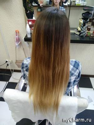 С 14:00 до 23:00 мы... красили волосы!