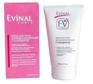 Evinal / Крем для тела антицеллюлитный с экстрактом плаценты