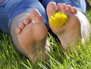 Как справиться с повышенной потливостью ног?