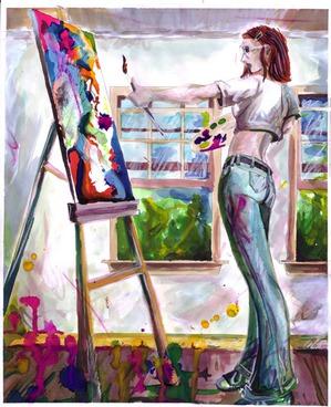Лучший художник...