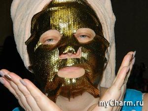 Маска 24K Gold Silk - настоящее золото для вашей кожи!