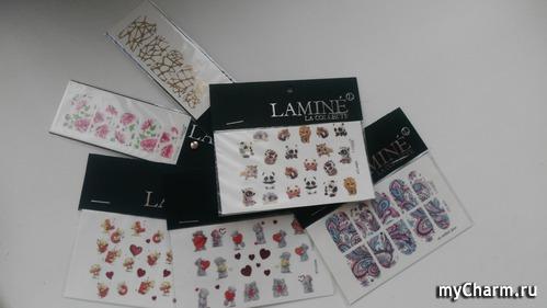 Тестирование слайдеров Lamine La Collecte