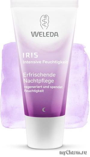 WELEDA / Освежающий ночной крем-уход Iris