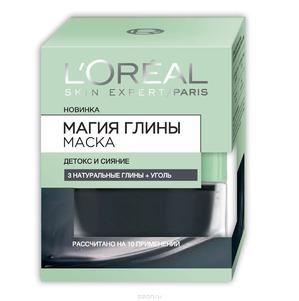 L'OREAL / Маска для лица Магия глины Детокс и Сияние