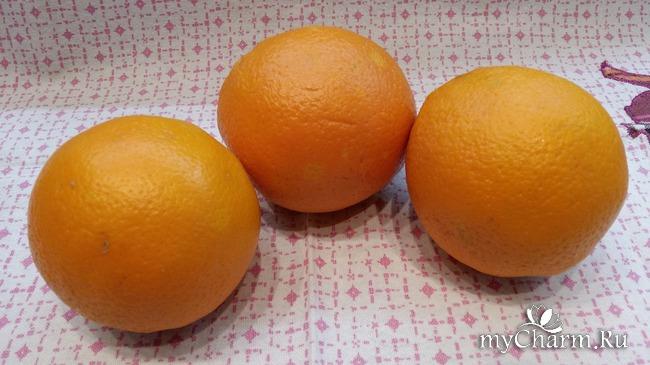 Аромат Нового года. Апельсиновые чипсы.