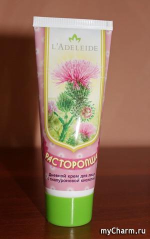 L'Adeleide / Крем дневной для лица с гиалуроновой кислотой Расторопша