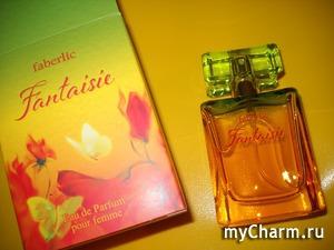 Восхитительное цитрусово-цветочное облако в парфюме Fantaisie от Faberlic!