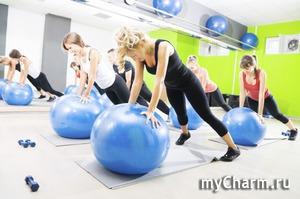 Упражнения с фитболом для верхней части тела