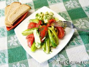 Салат малосольный