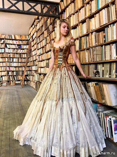 Платье-книга, платье-скрипка, платье-шик!
