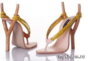 Необычные туфли