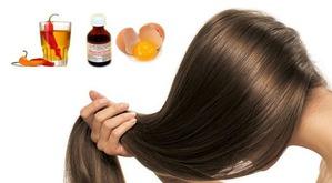 Выпадение волос. Народные средства: настойка жгучего перца