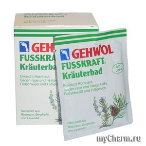 Gehwol / Травяная ванна для ног Fusskraft Herbal Bath