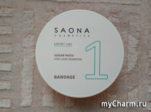 Бандажная техника шугаринга с Saona Cosmetics. Депиляция