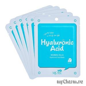 Mijin / Маска тканевая для лица Hyaluronic acid mask mj care on