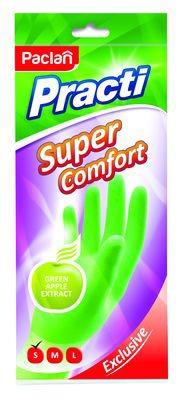 Мотивация для весенней уборки. Перчатки с ароматом яблока Paclan защитят руки и поднимут настроение при наведении порядка