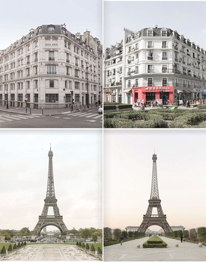 В Китае подделали город Париж