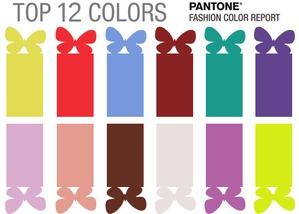 Топ-12 модных цветов 2018 года