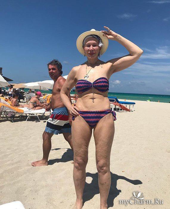 Татьяна Васильева облачилась в бикини