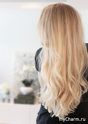 Длинные волосы: красим бережно!