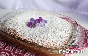 Кокосовый пирог на сгущенке