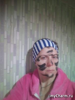 Селфи в масках. Забег 4. toha336 на страже порядка)))