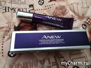 """Средство для мгновенного преображения кожи вокруг глаз """"Клеточное возрождение"""" Avon Anew Platinum Instant Eye Smoother 55+"""