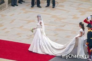 Свадебное платье Кейт Миддлтон официально признано самым красивым